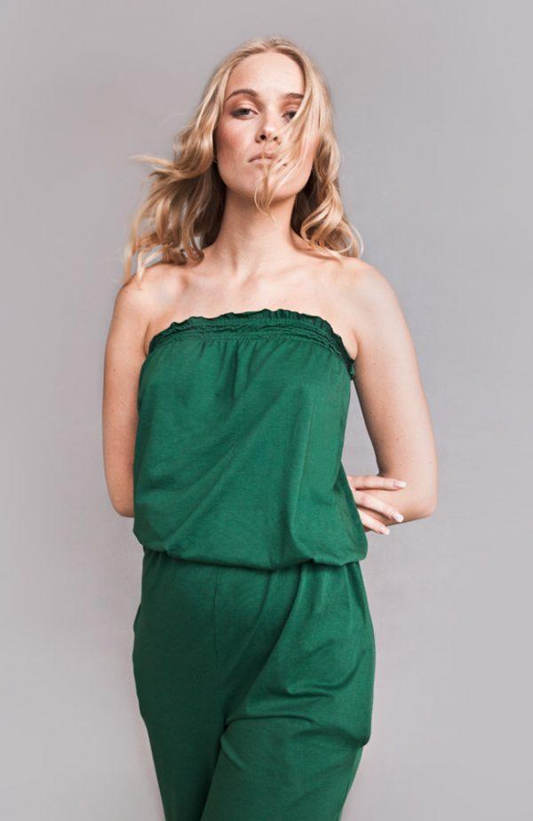 jumpsuit emerald - nova fernes