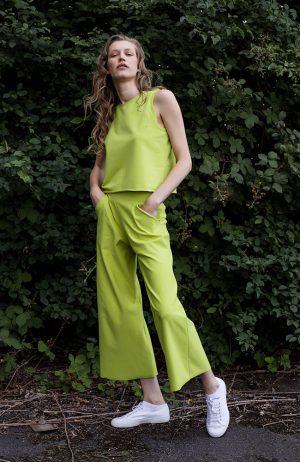 Tanktop in Lime | Vegan | plantbased